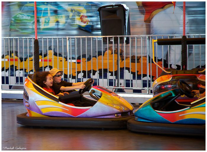 County Fair bumper cars3