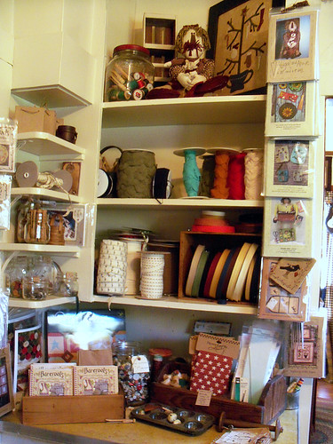 Kitchen Cupboard at the Country Loft