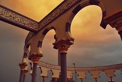 one evening (yttria.ariwahjoedi) Tags: indonesia java minaret central mosque semarang masjid agung