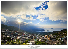 九份山城_MG_2277 (Justin1006 (Justin Yeh 葉勇宏)) Tags: sunset night twilight taiwan 夕陽 taipei 台灣 台北 夜景 九份 晚霞 jiufen 山城 晨昏 瑞芳鎮 rueifangtownship