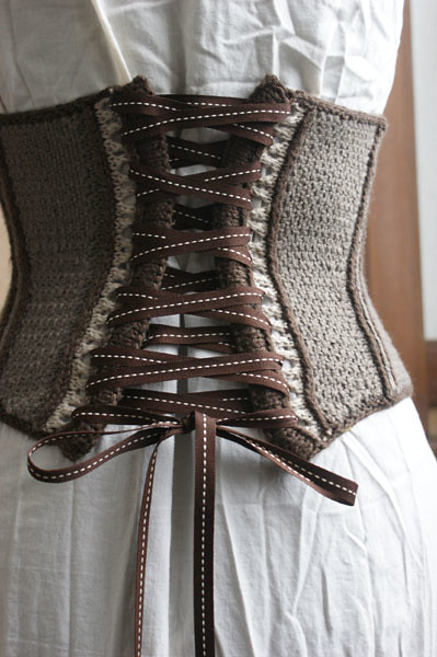 The Prim Reaper's Corset from Vampire Knits