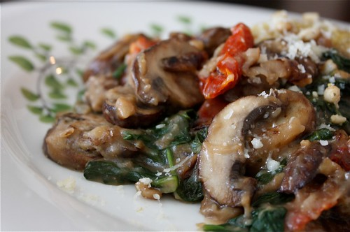 Mushroom Marsala with Garlic Herb Quinoa Pilaf