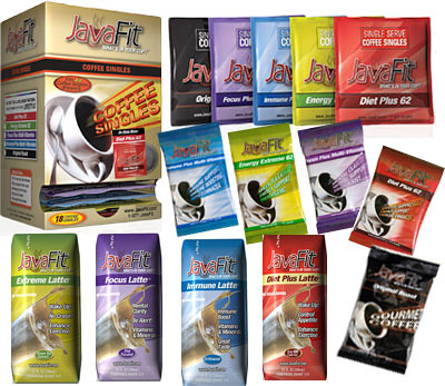 java fit coffee-flavors