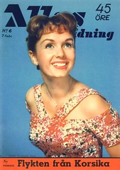 Debbie Reynolds on the cover of Allas Veckotidning (A Swedish Magazine) No. 6, Feb. 7, 1958 (Silverbluestar) Tags: ladies girls color classic film beautiful beauty fashion vintage magazine hair stars women pretty dancer swedish cover hollywood 1950s singer blonde actress 1958 movies celebrities mgm hairstyles womens metrogoldwynmayer debbiereynold allasveckotidning