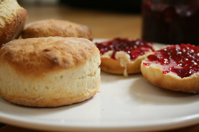 Scones & Bramble Jelly