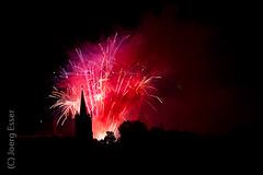 Feuerwerk zur Kirmes Mühlhausen 2010
