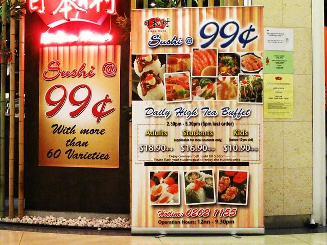 IMG_9962 99 cents sushi , Singapore