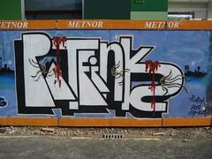 Thing Five (mr_la_rue) Tags: street uk urban streetart art rose movie newcastle graffiti paint thing graf production graff aerosol thething ratfink 2010 hicks gbye swot