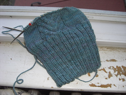 Handspun Tapered Staghorn Hat