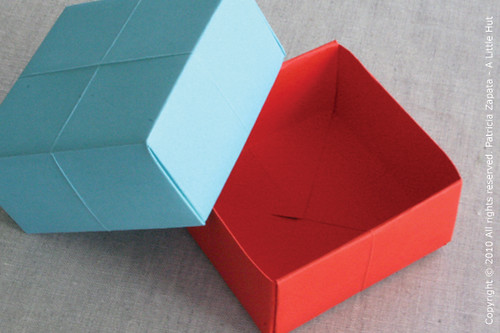 A Little Hut - Patricia Zapata: how to make a paper gift box