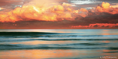 After the Storm (-yury-) Tags: ocean sunset storm beach water clouds wave australia nsw centralcoast theentrance