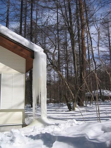 山荘のミニ氷爆 08.3.9 by Poran111
