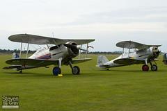 G-AMRK & G-GLAD - K7985 & N5903 - Gloster Gladiator Mk1 & Mk2 - Duxford - 100905 - Steven Gray - IMG_5922