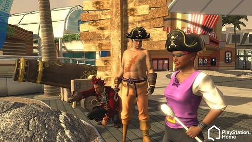 PlayStation Home Dragon's Green, Lockwood And Pirates