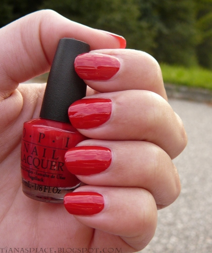 OPI - Color So Hot it Berns #5