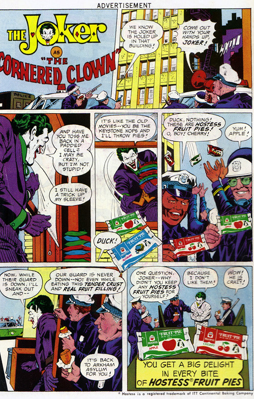 Vintage Ad #1,207: An Important Revelation About the Joker