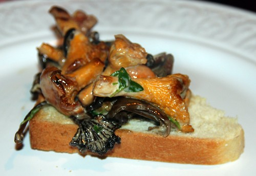 Shrooms on Toast