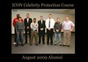 AUGUST 2009 ICON Celebrity & VIP Protection Course Alumni