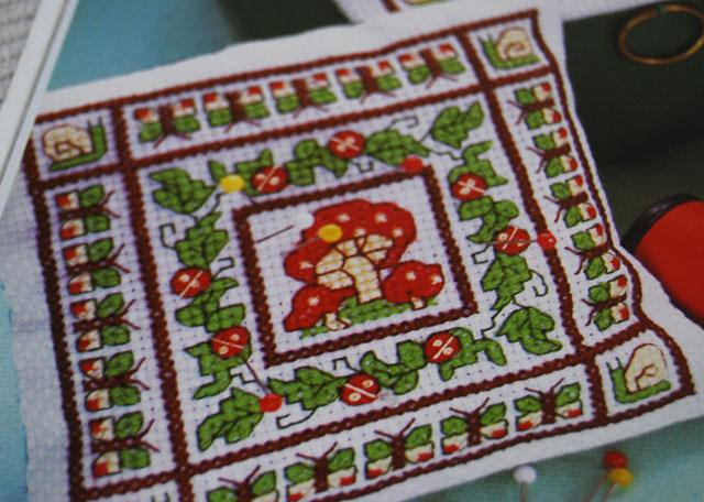 forest cross stitch