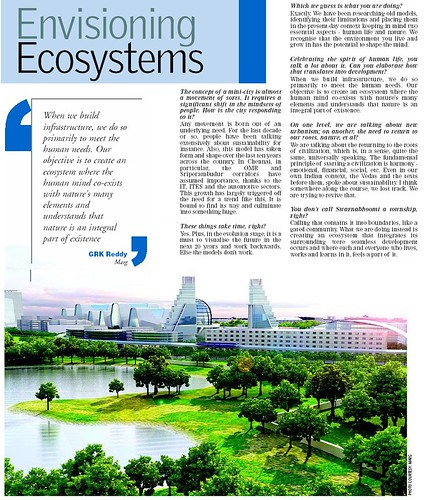 MARG - Times of India - Envisioning Ecosystem