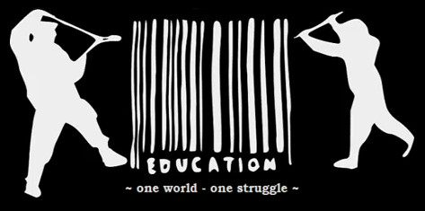 education one world one struggle by Cau Napoli, on Flickr