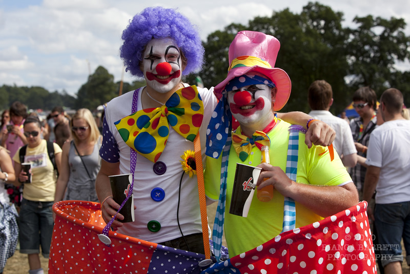 Festival Goers - Clowning Around!
