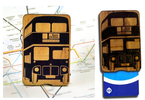 Routemaster bus Oyster card Holder
