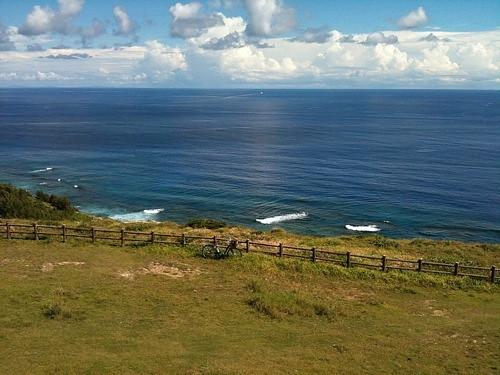 粟国島のマハナ展望台