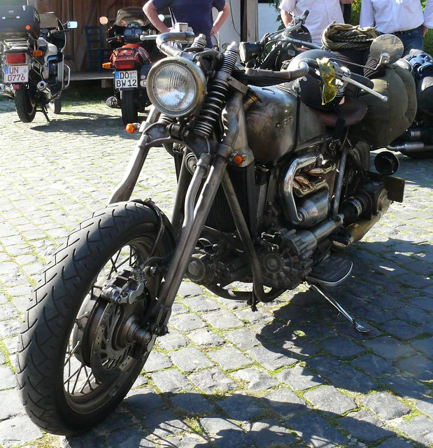Handmade VW diesel engine based motorcyle vl