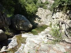 Entre la confluence Quercitella et la confluence Calva : dalles-vasques