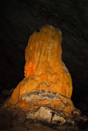 Stalagmite at Palawan Underground River Cave by x0nelg