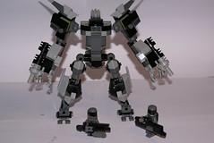 AX01-heavy combat suit (lordd3struct0r) Tags: robot lego suit scifi combat mecha mech hardsuit ax01heavy