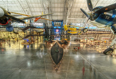 The Hangar (magnetic lobster) Tags: washingtondc smithsonian districtofcolumbia interior aircraft airplanes hangar wideangle indoors hdr nationalairandspacemuseum sr71blackbird stevenfudvarhazycenter spaceshuttleenterprise washingtondullesinternationalairport sterlingvirginia