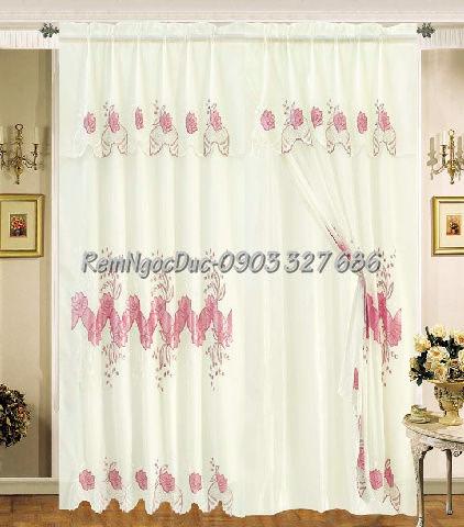Rèm Cửa Ngọc Đức-Chuyên rèm vải trang trí-Tư vấn mang mẫu tận nhà-Free lắp đặt