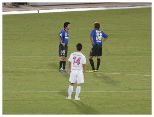 キックオフ@ガンバ大阪 VS セレッソ大阪