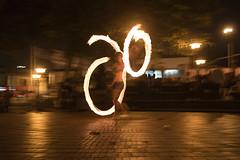 Jugando con Fuego (JuanEsOc) Tags: lightpainting fire play incendiary
