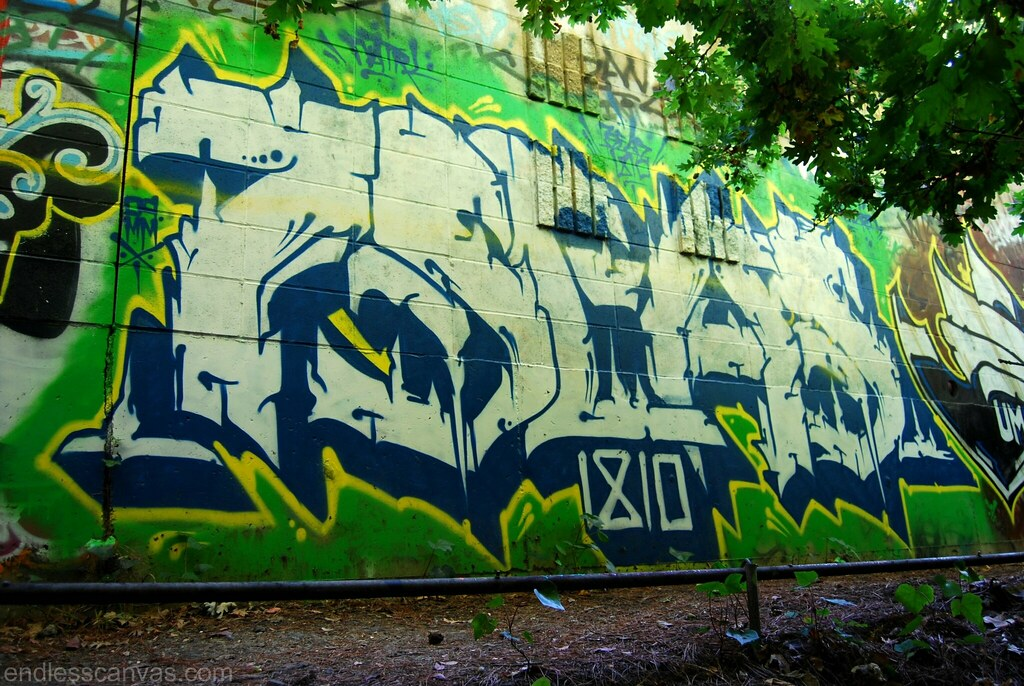 7Seas Graffiti Oakland CA.