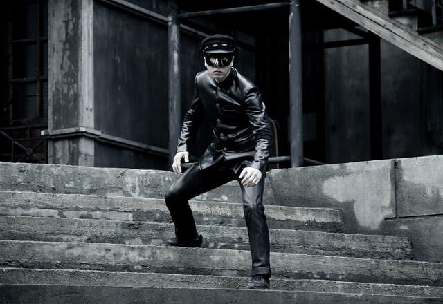Donnie Yen as a masked vigilante