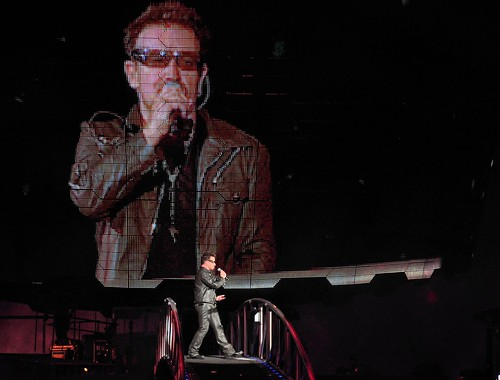 U2 360° Tour at Stade de France, Saint-Denis, Paris, France. September 18, 2010