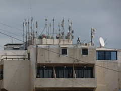 Wireless (fgirardin) Tags: lebanon rooftop wireless beirut antennas beyrouth