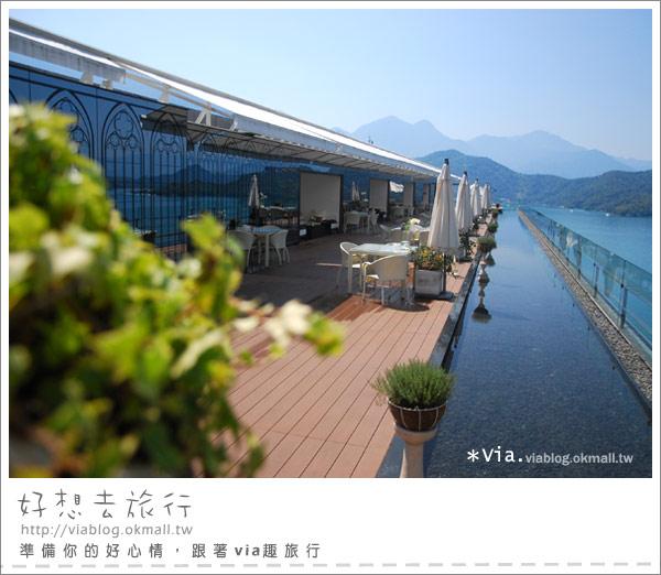 【南投】欣賞日月潭最美角度的餐廳~雲品酒店雲月舫21