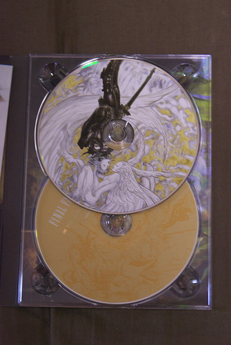 FINAL FANTASY XIV Collector's Edition DVD