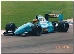 Karl Wendlinger March Ilmor CG911 F1. 1992 British GP Silverstone