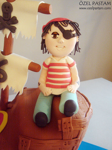 Kaptan Kanca ve Emin'in Pasta / Captain Hook Cake