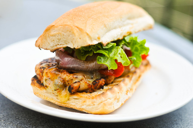 Grilled Blackened Chicken Sandwich Recipe :: The Meatwave