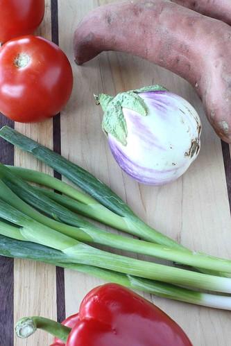 Roasted Vegetable (Sweet Potato, Eggplant & Tomato) Spread or Dip ...