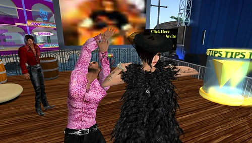 xavier and raftwet in second life