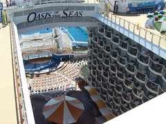 Oasis of the Seas view from Crown Loft 1734 (Paul Dickerson) Tags: oasis seas 2010