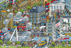 Top Gear Where's Stig? The World Tour - London -  book illustration - isometric pixel art by Rod Hunt (Rod Hunt Illustration) Tags: travel detail london art cars tourism car illustration towerbridge artist drawing illustrated cartoon housesofparliament londoneye parliament bigben automotive adobe bbc pixel pixelart londonunderground londonmap illustrator drawn riverthames publishing cartoons vector stig isometric blackcab cartoonist londonbus londontransport londontaxi adobeillustrator whereswally topgear whereswaldo jeremyclarkson lnd transportforlondon londonart richardhammond vectorillustration thestig jamesmay digitalartist londonartist cartoonillustration pixelcity isometricillustration rodhunt bbcbooks vectorillustrator isometricillustrator pixelartist vectorartist londonillustration londonillustrator wheresstig isometricpixelart isometricpixelartist pixelartists londonpixelartmap londonpixelart londonpixelartmaps pixelartmaplondon pixelartlondon londonpixelcity londonpixelartist londonmapillustration pixelartistlondon