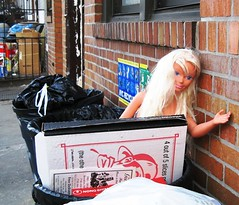 Doll in Trash (Abandoned Toys No. 1) (Big Sky Brooklyn) Tags: sky brooklyn abandonedtoys brooklyn big discardedtoys adam bigskybrooklyncom eisenstat artifactscatalogbigskybrooklynartifacts playgrounds